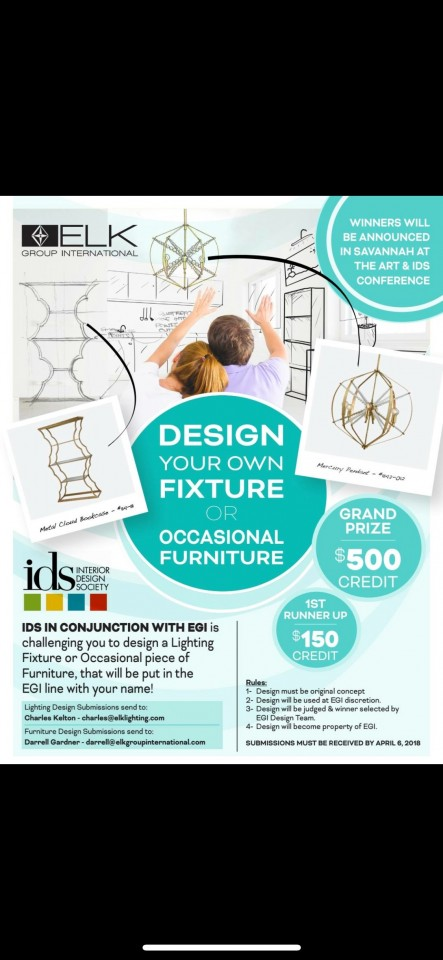 Design your own Fixture or Occassioinal Furniture Contest!